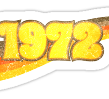 1972 Sticker
