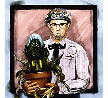 Rick Moranis - 1980's comedy superstar Photographic Print