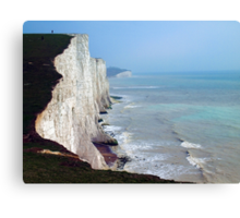 Seven Sisters, East Sussex Canvas Print