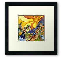 The Dream Colorful Psychedelic Art Framed Print