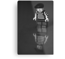 Happy on the outside...  Metal Print