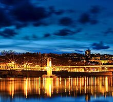 City Lights: Lyon part II by Sebastian Wuttke