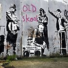 Banksy, Old Skool, London by ManwithaCamera