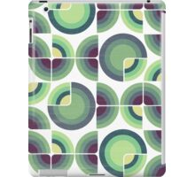 Green Fields Pattern iPad Case/Skin