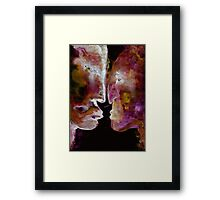 Walk away from madness! Framed Print