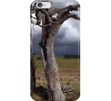 The storm clouds on the horizon iPhone Case/Skin