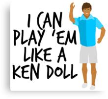 Ken Doll Heart Attack Canvas Print