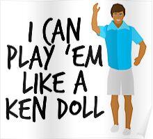 Ken Doll Heart Attack Poster