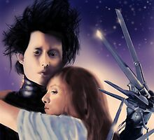 """I Can't"" - Edward Scissorhands by danielctuck"