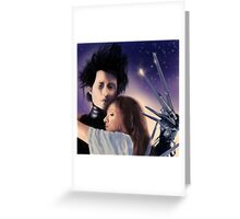 """I Can't"" - Edward Scissorhands Greeting Card"