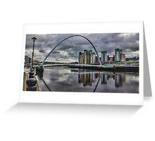 Gateshead Millennium Bridge Greeting Card