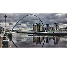 Gateshead Millennium Bridge Photographic Print