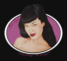 Pin-Ups Betty Page  heathengraphics by HeathenGraphics