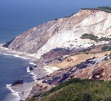 Aquinnah Clay Cliffs by phil decocco