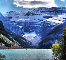 Lake Louise Banff by Vickie Emms