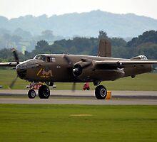 B-25 Mitchell(PH-XXV) by Andy Jordan