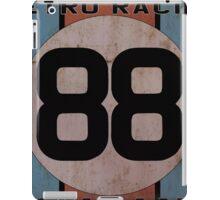"Retro Racing Company ""88"" iPad Case/Skin"