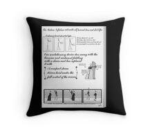 Mdm Slumbers 1888 Catalogue 1888 page 4 Throw Pillow