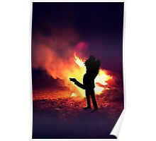 ✿♥‿♥✿ IT ONLY TAKES A SPARK TO GET A FIRE GOIN..BURNIN LOVE CARD/PICTURE✿♥‿♥✿ Poster