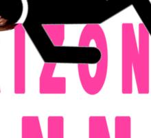 Horizontal Runner Sticker