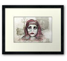 Memories of Paris Framed Print