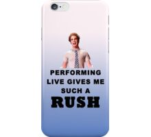 Benji - Performing Live Quote iPhone Case/Skin
