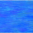 Peaceful Blue Ripple by Betty Mackey
