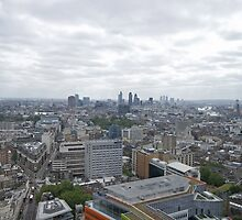 A view across London from centrepoint by Keith Larby