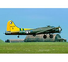 "B-17G Fortress II 44-85784 G-BEDF ""Sally B"" Photographic Print"