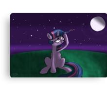 """Twilight Sparkle ~ """"First Gray Hair"""" Canvas Print"""