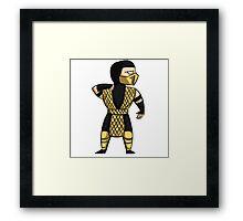 Scorpion (MKII) Framed Print