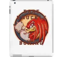 Bare Knuckle Boxing iPad Case/Skin