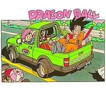 Dragon ball! by jubileetees