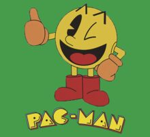 Pac-Man by BearWithAKnife