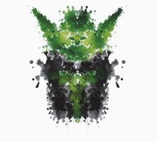 Rorschach Yoda by badbugs