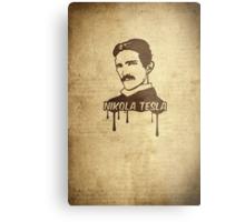 Nikola Tesla  Metal Print