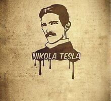 Nikola Tesla  by badbugs