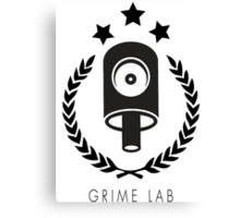 Iconic Cap Grime Lab Canvas Print