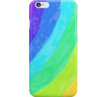 Over the Neon Rainbow iPhone Case/Skin