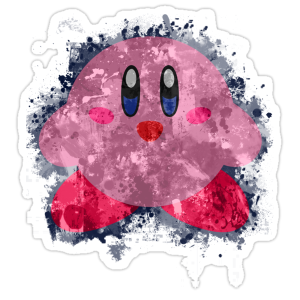 Kirby Splatter by Colossal