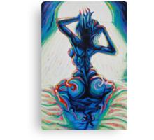 Waking Nude Canvas Print