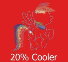 Sprayed Rainbow Dash (20% Cooler) Kids Clothes