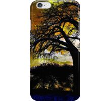 Silhouette Sizzle  iPhone Case/Skin