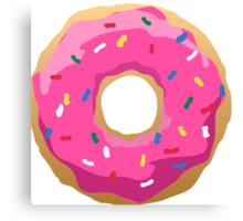 Simpsons Iconic Doughnut  Canvas Print