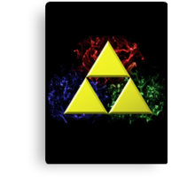 Smoky Triforce Canvas Print
