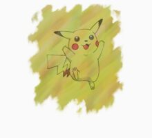 Watercolour Pikachu Kids Clothes