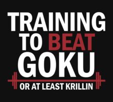 Training to beat goku - Krillin by Lamamelle2nd