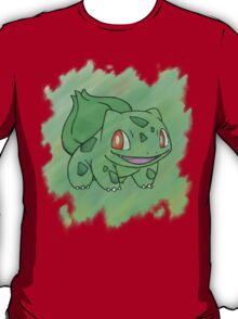 Watercolour Bulbasaur T-Shirt