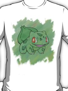 Watercolour Bulbasaur T-Shirt
