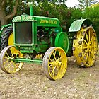 Antique John Deere Farm Tractor I by DaveKoontz